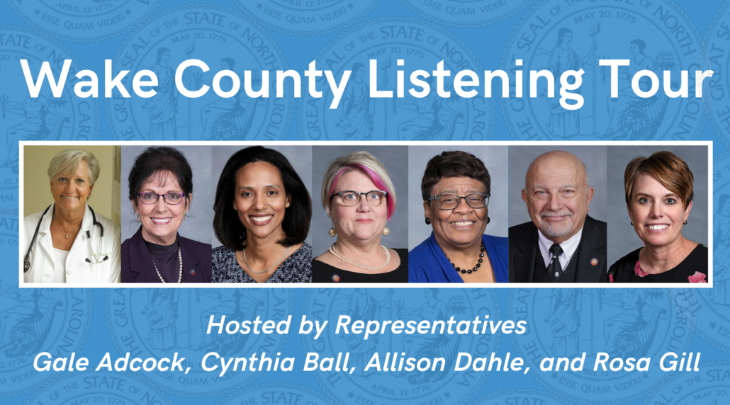 Wake Co Listening Tour